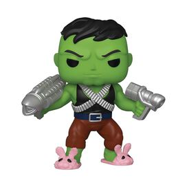 Funko Pop! Marvel: Professor Hulk with Pink Bunny Slippers 6 inch - (Previews Exclusive)