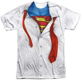 Superman Im Superman Short Sleeve Adult 100% Poly Crew T-Shirt