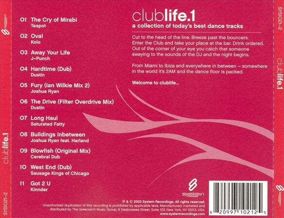Clublife Vol.1 0903
