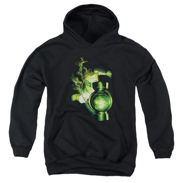 Green Lantern Lantern Light Youth Pull Over Hoodie