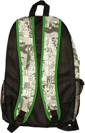 Green Lantern Inked Comic Backpack