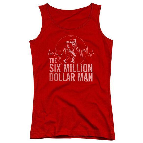 Six Million Dollar Man Target Juniors Tank Top