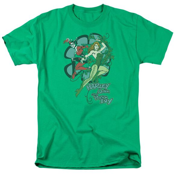 Dc Harley And Ivy Short Sleeve Adult Kelly T-Shirt