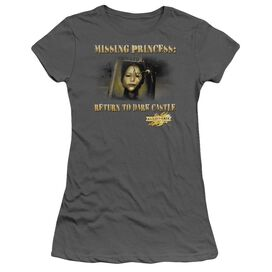 Mirrormask Missing Princess Short Sleeve Junior Sheer T-Shirt