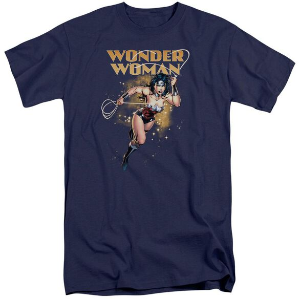 Jla Star Lasso Short Sleeve Adult Tall T-Shirt