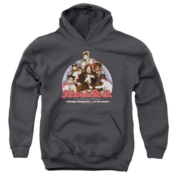 School Of Rock I Pledge Allegiance Youth Pull Over Hoodie