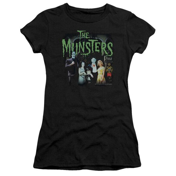 The Munsters 1313 50 Years Short Sleeve Junior Sheer T-Shirt