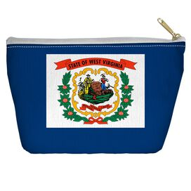 West Virginia Flag Accessory Pouch