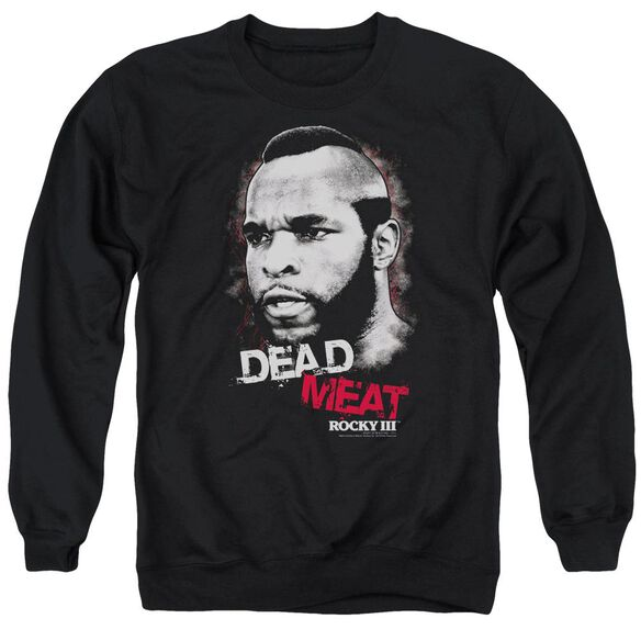 Rocky Iii Dead Meat Adult Crewneck Sweatshirt