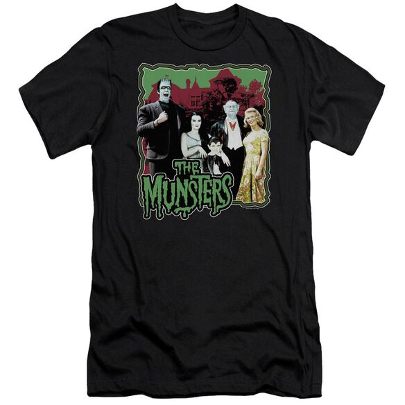 The Munsters Normal Family Premuim Canvas Adult Slim Fit