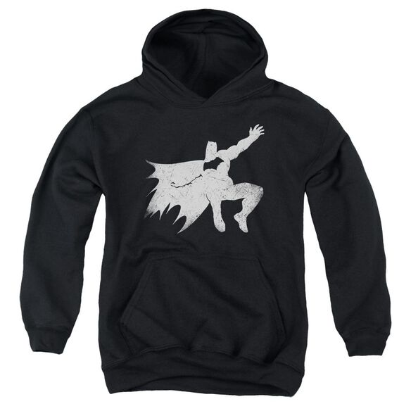 Batman V Superman Knight Silhouette Youth Pull Over Hoodie