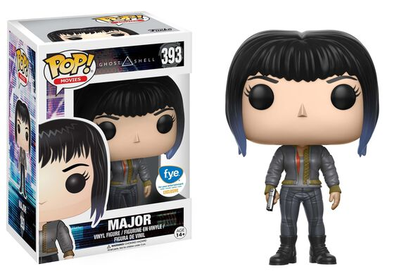 Pop Exclusive Ghost in the Shell Major Black Jacket