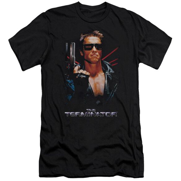 Terminator Poster Premuim Canvas Adult Slim Fit