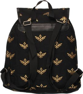 Zelda Multi Crest Flap Top Backpack