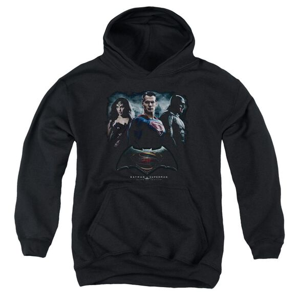 Batman V Superman The Crew Youth Pull Over Hoodie