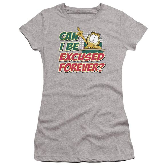 Garfield Excused Forever Premium Bella Junior Sheer Jersey Athletic