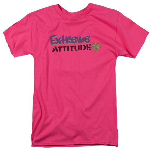 Warheads Extreme Short Sleeve Adult Hot Pink T-Shirt