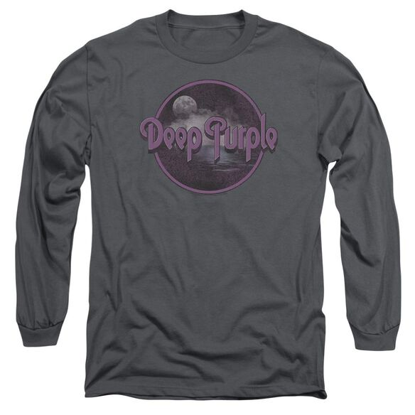 Deep Purple Smoke On The Water Long Sleeve Adult T-Shirt