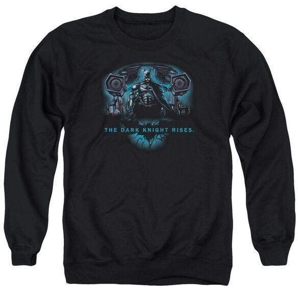 Dark Knight Rises Gothams Dark Knight Adult Crewneck Sweatshirt