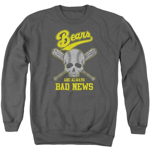 Bad News Bears Always Bad News Adult Crewneck Sweatshirt