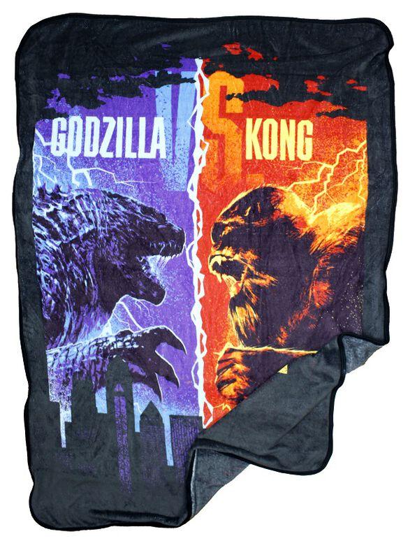 Godzilla Vs. Kong Plush Throw Blanket