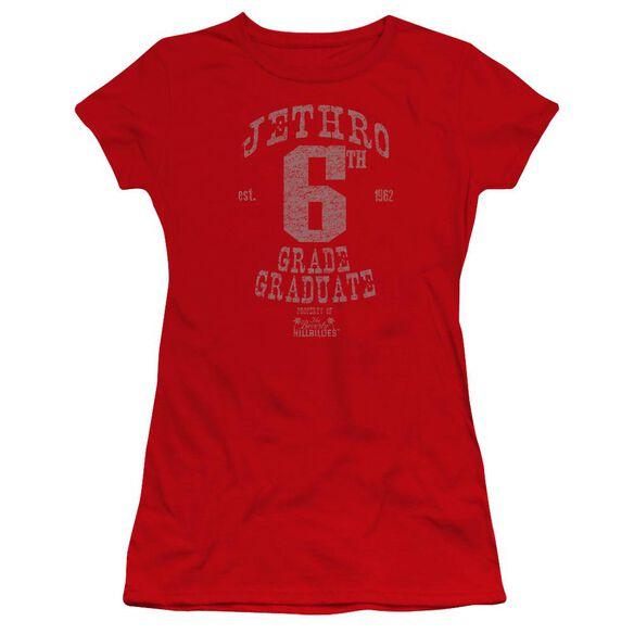Beverly Hillbillies Mr 6 Th Grade Grad Premium Bella Junior Sheer Jersey