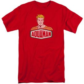 Dco Aquaman Sign Short Sleeve Adult Tall T-Shirt