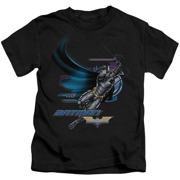 Dark Knight Flyer Short Sleeve Juvenile Black T-Shirt
