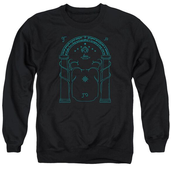 Lord Of The Rings Doors Of Durin Adult Crewneck Sweatshirt