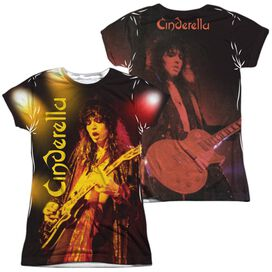 Cinderella Live Show (Front Back Print) Short Sleeve Junior Poly Crew T-Shirt