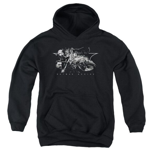 Batman Begins Night Natives Youth Pull Over Hoodie