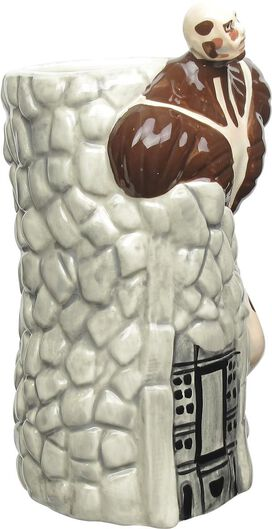 Attack on Titan Colossal Titan Sculpted Beer Stein