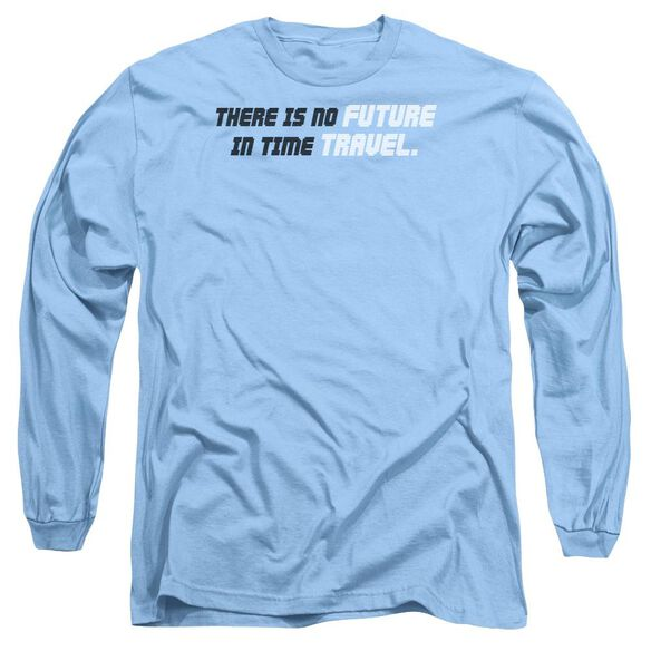 Time Travel Long Sleeve Adult Carolina T-Shirt
