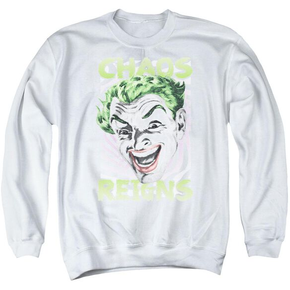 Batman Classic Tv Chaos Reigns Adult Crewneck Sweatshirt