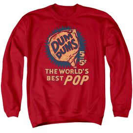 Dum Dums 5 For 5 Adult Crewneck Sweatshirt