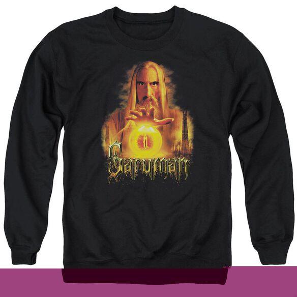 Lor Saruman Adult Crewneck Sweatshirt