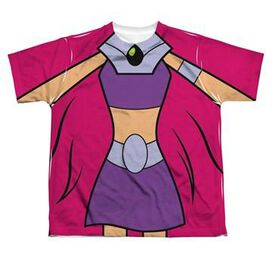 Teen Titans Go Starfire Suit Dye Sub Youth T-Shirt