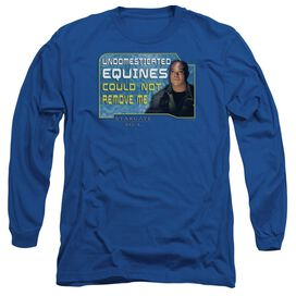 Sg1 Dedicated Long Sleeve Adult T-Shirt