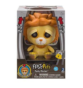 Feisty Pets Marky Mischief Lion