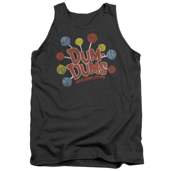 Dum Dums Original Pops - Adult Tank - Charcoal