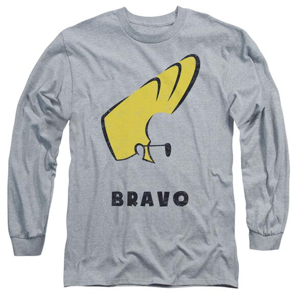 Johnny Bravo Johnny Hair Long Sleeve Adult Athletic T-Shirt