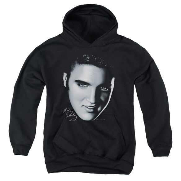 Elvis Big Face Youth Pull Over Hoodie