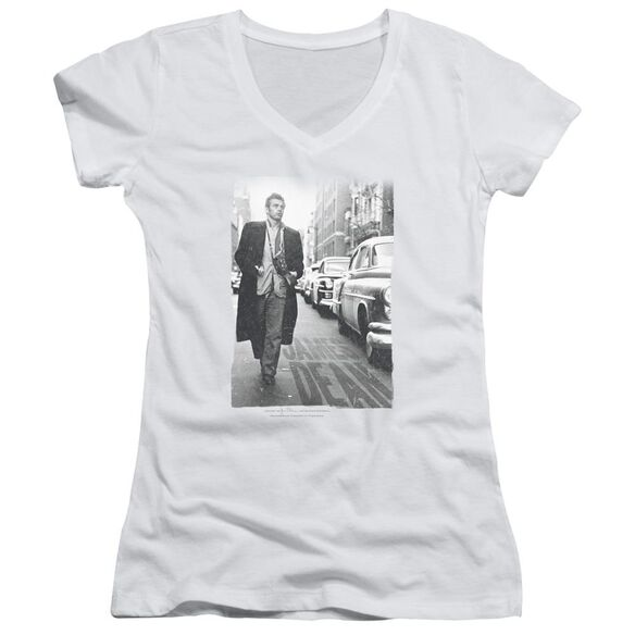 Dean On The Street Junior V Neck T-Shirt