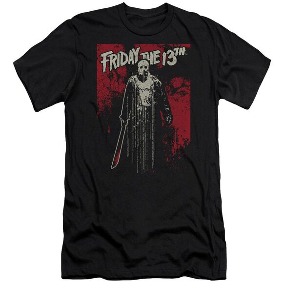 Friday The 13 Th Drip Hbo Short Sleeve Adult T-Shirt