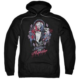 Suicide Squad Bad Girl Adult Pull Over Hoodie