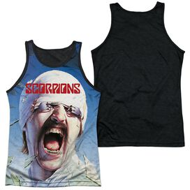 Scorpions Blackout Adult Poly Tank Top Black Back