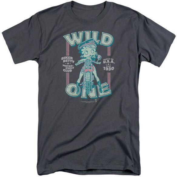 Betty Boop Wild One Short Sleeve Adult Tall T-Shirt