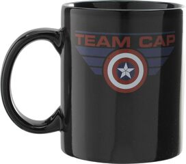 Captain America Civil War Team Cap Heat Change Mug