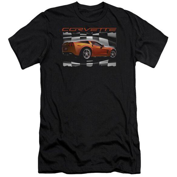 Chevrolet Orange Z06 Vette Short Sleeve Adult T-Shirt