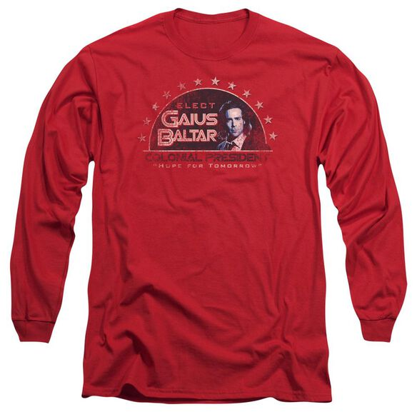 BSG ELECT GAIUS - L/S ADULT 18/1 - RED T-Shirt